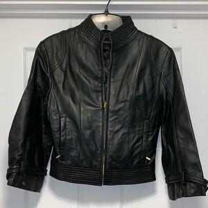 Arden B Crop Moto Jacket